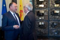 Visit by Jean-Claude Juncker, President of the EC, to Wallonia