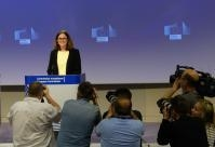Press conference by Cecilia Malmström, Member of the EC, on the US restrictions on steel and aluminium affecting the EU