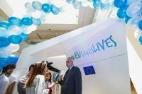 Visit by Christos Stylianides, Member of the EC, to Italy