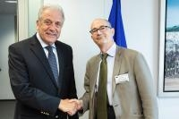 Visit of Patrick Weil, Chairman of Libraries Without Borders France, to the EC