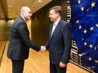 Visit of Mamuka Bakhtadze, Georgian Prime Minister, to the EC