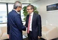 Visist of Zhang Ming, Head of the Mission of China to the EU, to the EC