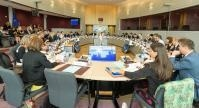 Visite des représentants des associations industrielles et commerciales à la CE