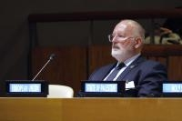 Frans Timmermans, First Vice-President of the EC, at the 73rd session of the United Nations General Assembly in New York