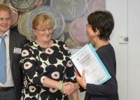 Visit of Pirkko Mattila, Finnish Minister for Social Affairs and Health, to the EC