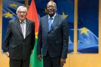 Visit of Roch Marc Christian Kaboré, President of Burkina Faso, to the EC