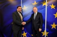 Visit of Anup Wadhawan, Indian Secretary of Commerce, to the EC