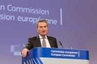 Press conference by Günther Oettinger, Member of the EC, on the EU's long-term budget
