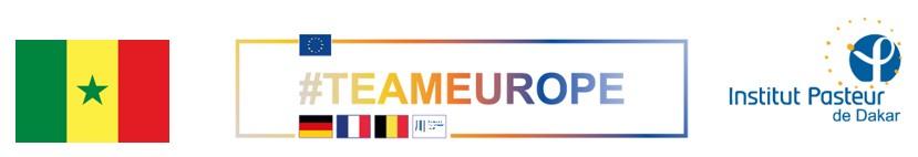 Logo Pasteura Senegal Team Europe