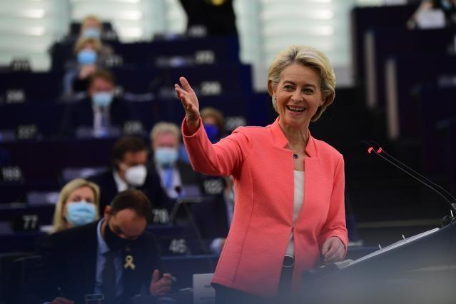 Discorso sullo stato dell'Unione 2021 della Presidente von der Leyen
