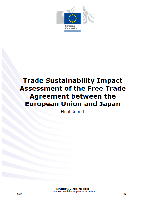 Trade Sustainability Impact Assessment Of The Free Trade Agreement