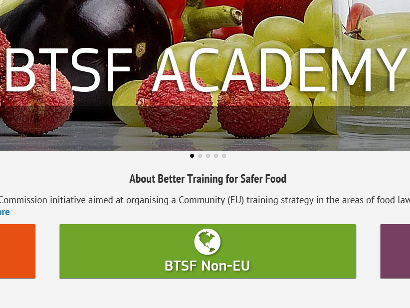 BTSF Training courses