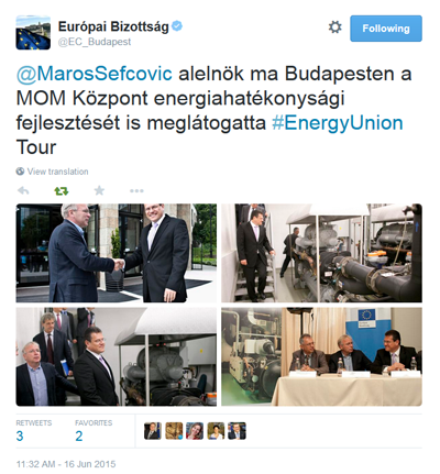 Energy Union Tour Hungary
