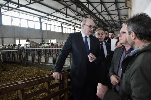 Phil Hogan, Member of the EC in charge of Agriculture and Rural Development visits the area of Thessalonica where he visits a farm, a winery and attends meetings.