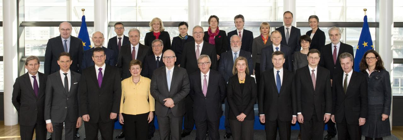 Juncker Commission family photo