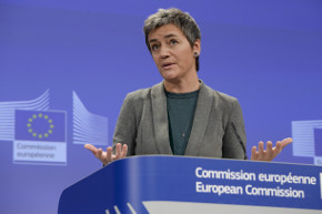 Margrethe Vestager, Commissioner in charge of Competition © EU