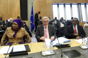 President Juncker and Chairperson Dlamini-Zuma chaired a joint meeting of both Commissions