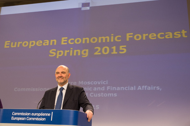 Commissioner Moscovici presenting the Spring Economic Forecast