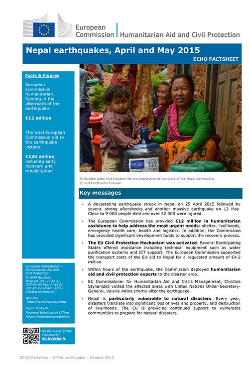 Factsheet Nepal