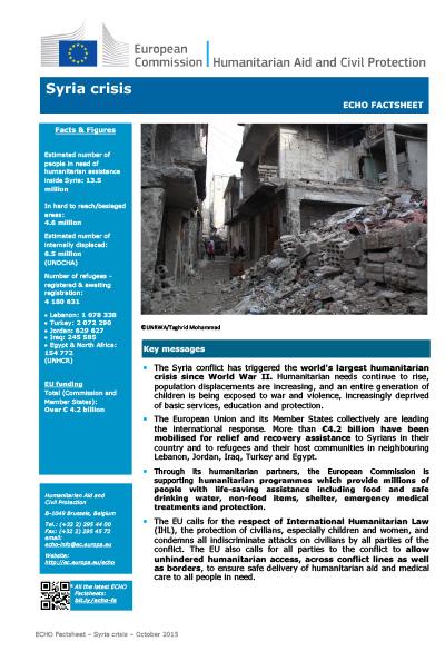 Factsheet Syria
