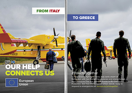 From Italy to Greece – Fires