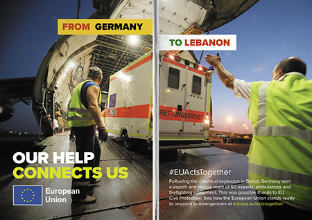 From Germany to Lebanon – Beirut Explosion