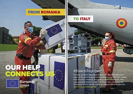 From Romania to Italy – COVID-19
