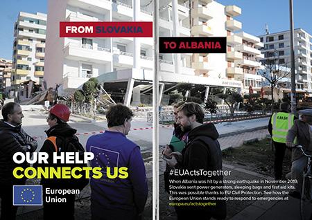 From Slovakia to Albania – Earthquake