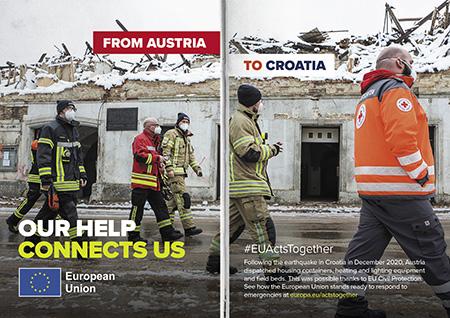 From Austria to Croatia – Earthquake
