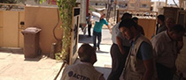 adapting aid delivery in Iraq to the dangers on the ground
