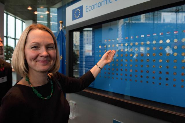Permanent euro coin exhibition opens in Brussels