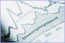 Graph on unemployment in a newspaper © iStockphoto