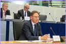 Jyrki Katainen, in the foreground © European Union