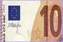 European 10 Euro Banknote © ECB