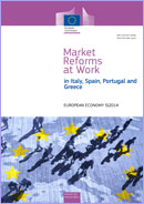 Market Reforms at Work in Italy, Spain, Portugal and Greece. European Economy 5/ 2014.