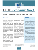 China's reforms: Time to walk the talk. Economic Brief 41.