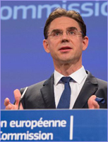 Jyrki Katainen on the agreement on the European Fund for Strategic Investments (EFSI) © European Union, 2015