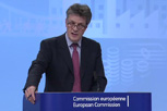 Jonathan HILL, Member of the EC, during the press conference on Action Plan for the Capital Markets Union © European Union