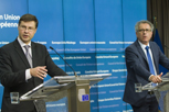 Vice-President Valdis Dombrovskis and Finance minister of Luxembourg Mr Pierre Gramegna © European Union, 2015
