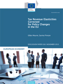 Tax revenue elasticities corrected for policy changes in the EU. Discussion Papers 18.