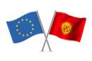 European Union and Kyrgyz Republic flags © thinkstockphotos