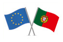 European Union and Portugal flags © thinkstockphotos