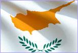 Cyprus flag @ European Union