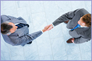 Business handshake and trust © Thinkstock