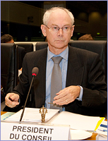 Mr Herman VAN ROMPUY, President of the European Council © The Council of the European Union