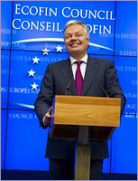 Mr Didier REYNDERS, Belgian Deputy Prime Minister and Minister for Finance and Institutional Reforms – Presidency © The Council of the European Union