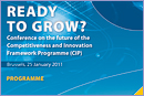 Conference on the future of the Competitiveness and Innovation Framework Programme (CIP) © European Commission