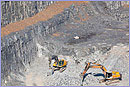 Aerial view of mining © European Commission