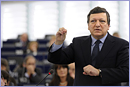 Participation of José Manuel Barroso, President of the EC, at the EP plenary session  © European Union, 2011