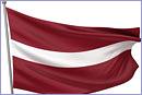 Latvia National Flag © Thinkstock.com